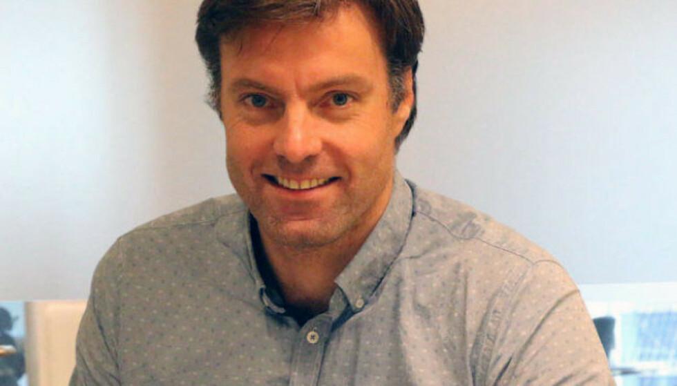 ENERGIEKSPERT: Anders Brenna tror bølgekraft vil bli en viktig energikilde i fremtiden. Foto: Enerwe.no