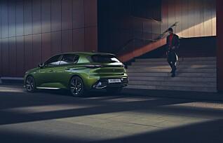 Peugeot 308 kommer som elbil