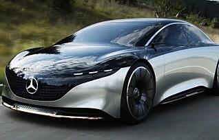 Bekreftet: Mercedes-Benz EQS får rekkevidde på godt over 70 mil