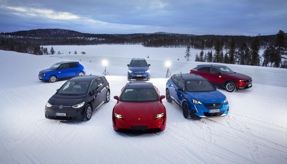 MEST ØKONOMISK: Elbilene er de klart rimeligste bilene å eie, også når verditapet tas med i beregningen. Foto: Velimatti Honkanen
