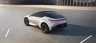 Lexus avduker elbilen LF-Z