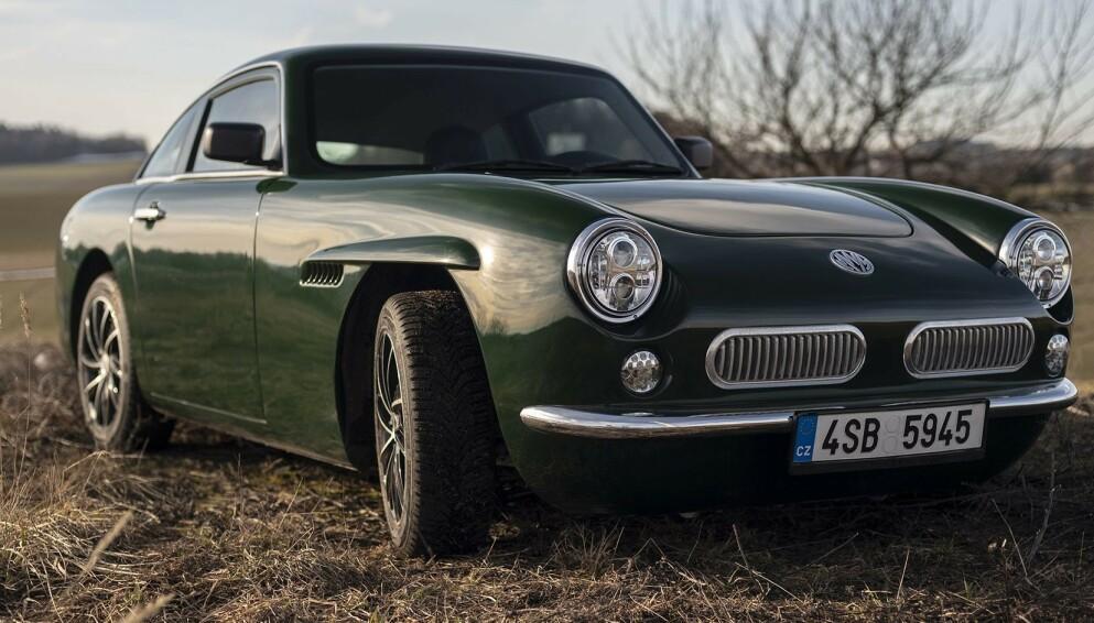 MW Luka EV: Det er ikke mye ved designen som avslører at Luka EV er en splitter ny elbil. Og vi liker det vi ser. Foto: MW Motors