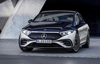 Mercedes-Benz EQS er lansert