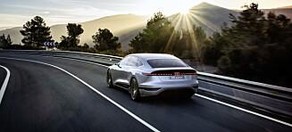 Audi A6 e-tron er lansert