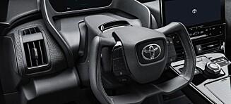 Toyota lanserer elbilen bZ4X