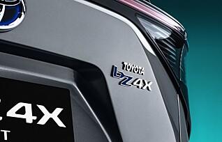 Flere detaljer om elbilen Toyota bZ4X