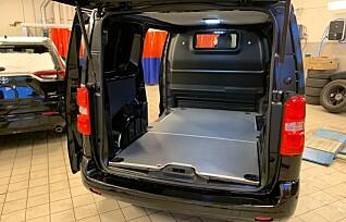 Enova senker støttesatsen for kjøp av el-varebil