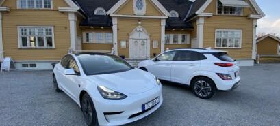 350.000 kroner:Tesla Model 3 eller Hyundai Kona?