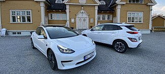 Duell:Hyundai Kona mot Tesla Model 3 Standard Range