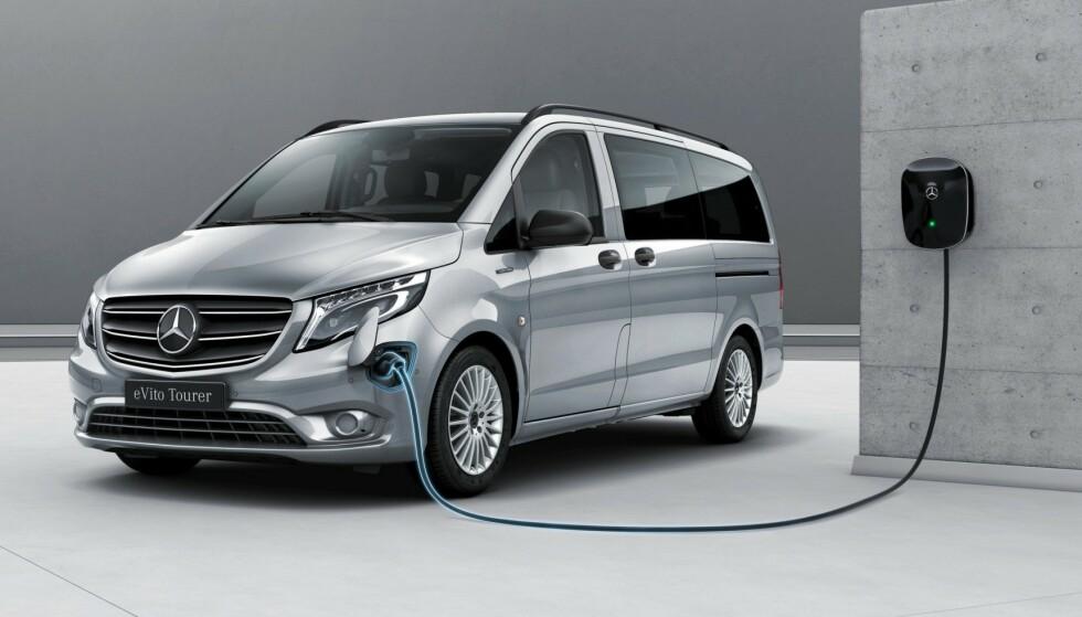 PRAKTISK OG RIMELIG: Salget av elektriske varebiler har løftet seg kraftig den siste tiden. Foto: Mercedes-Benz