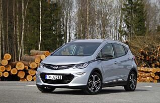 Opel tilbakekaller Ampera-e