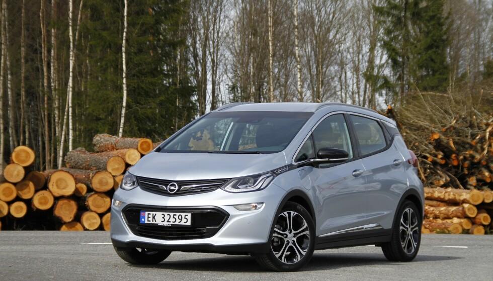 2017-2019 modeller: Opel tilbakekaller 3.766 biler i Norge av modellen Ampera-e. Foto: Fred Magne Skillebæk