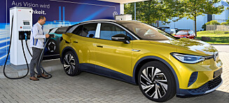 VW ID.4: Nesten rett på topp