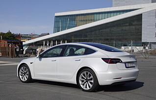 Tesla: På topp i mars, helt ute av lista i april