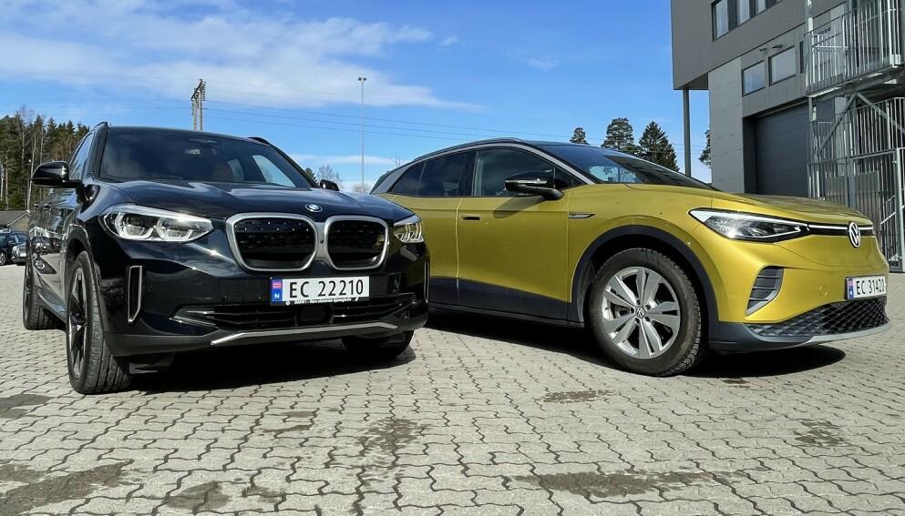 MEST FORNØYD: BMW har de mest fornøyde kundene i bilbransjen, og havner på fjerdeplass totalt sett. Volkswagen havner derimot lenger ned på listen. Foto: Bjørn Eirik Loftås