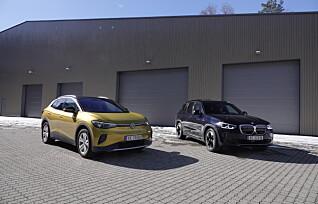 VW ID.4 møter BMW iX3