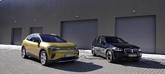 Duell: VW ID.4 møter BMW iX3