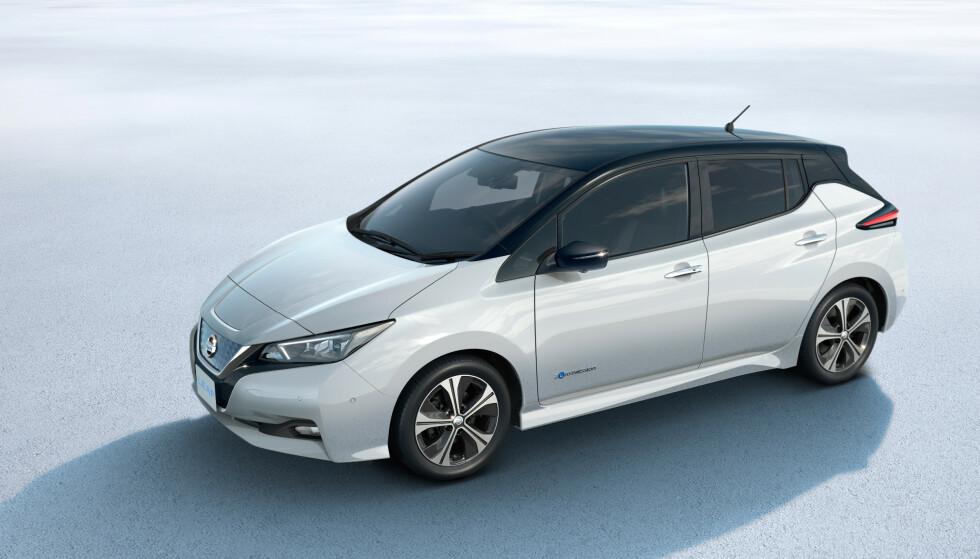 MINDRE UTSTYR: De mørke sidevinduene blir borte, det samme med LED hovedlykter. Foto: Nissan