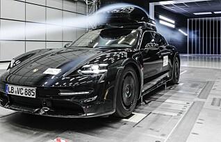 En Porsche på taket