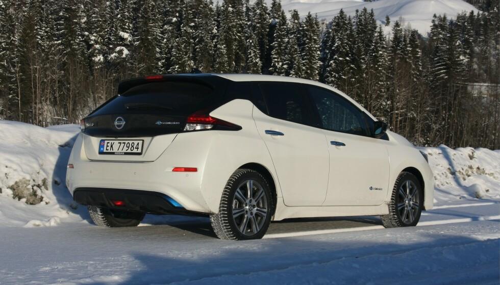 Nissan Leaf blir mye billigere