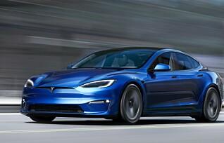 Tesla Model S blir verdens raskeste