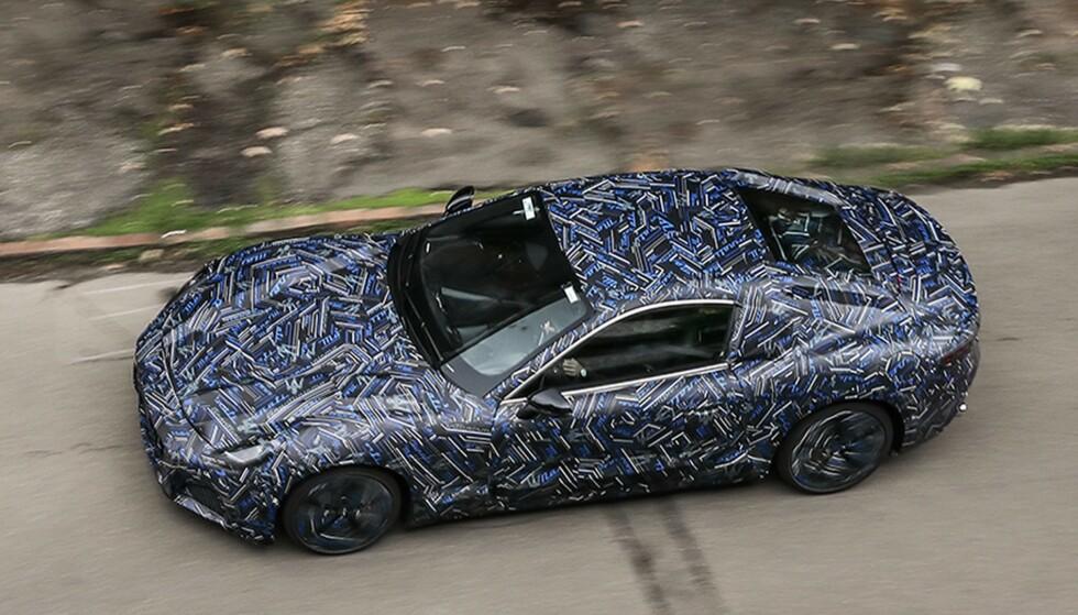UTFORDRER: Med Maserati GranTurismo kan modeller som Audi RS e-tron GT, Porsche Taycan og Tesla Model S Plaid få en sterk konkurrent. Foto: Maserati