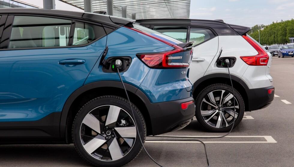 NY FABRIKK: Volvo Car Group skal bygge batterifabrikk i samarbeid med svenske Northvolt. Foto: Volvo