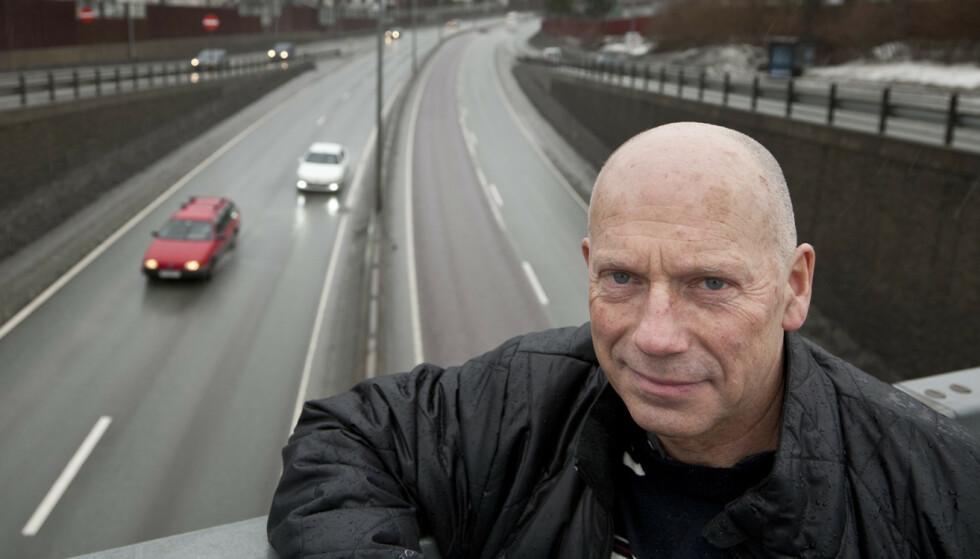 Trafikkforsker: Dagfinn Moe forsker på trafikk og føreradferd. Foto: Sintef