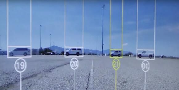 Forskere i kø: I testen simulerte forskerne ulike kjøreforhold. Faksimile: Youtube/The Vanderbilt University School of Engineering