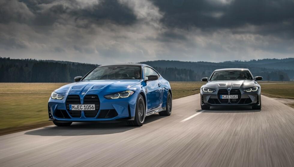 KLASSISK: BMW M3 og M4 Competition setter standarden i denne klassen. Foto: BMW