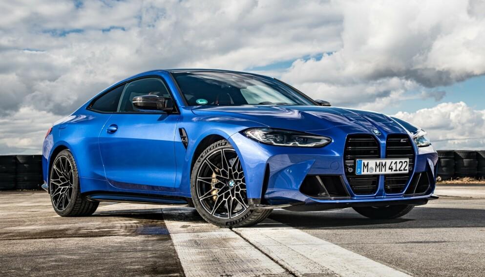 BMW M4 Competition: Bensinutgaven har satt standarden. Snart følger el-utgaven etter. Foto: BMW