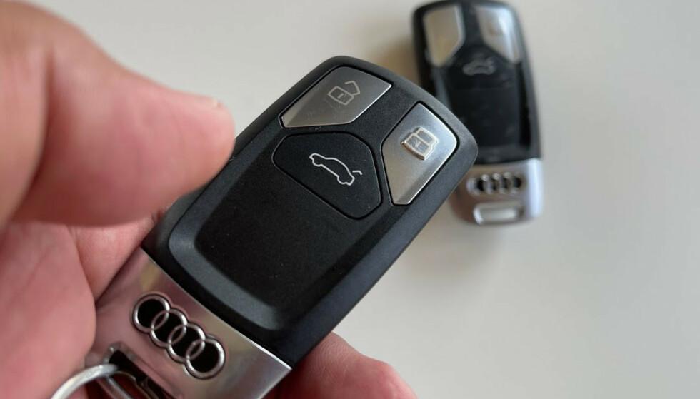 TA MED RESERVENØKKELEN: Å dra på bilferie med bare én nøkkel, kan fort bli skjebnesvangert. Foto: Bjørn Eirik Loftås