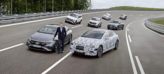 Bekreftet: Mercedes-Benz blir rent elbil-merke