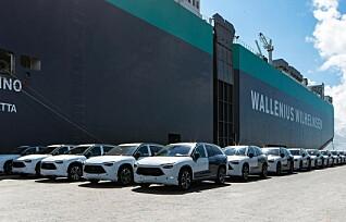 Nå er batteribytte-bilene på vei til Norge