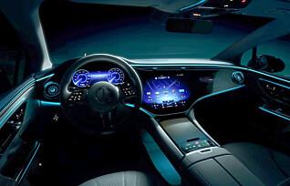 Mercedes-Benz EQE: - Skal sette en ny standard