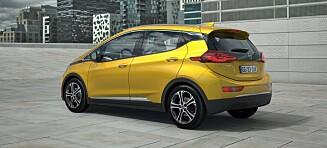 Bytter batteripakke i alle Opel Ampera-e