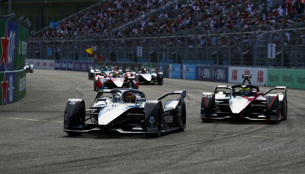 Dramatisk avslutning på Formel E-sesongen