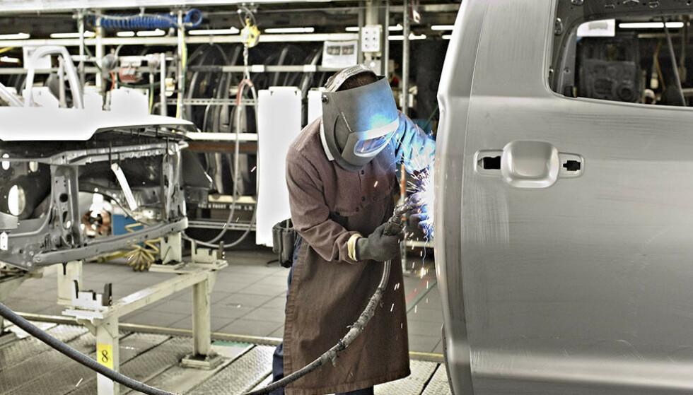 KUTTER: Flere av verdens største bilprodusenter opplever store utfordringer om dagen. Her fra en av Toyotas fabrikker. Foto: Toyota