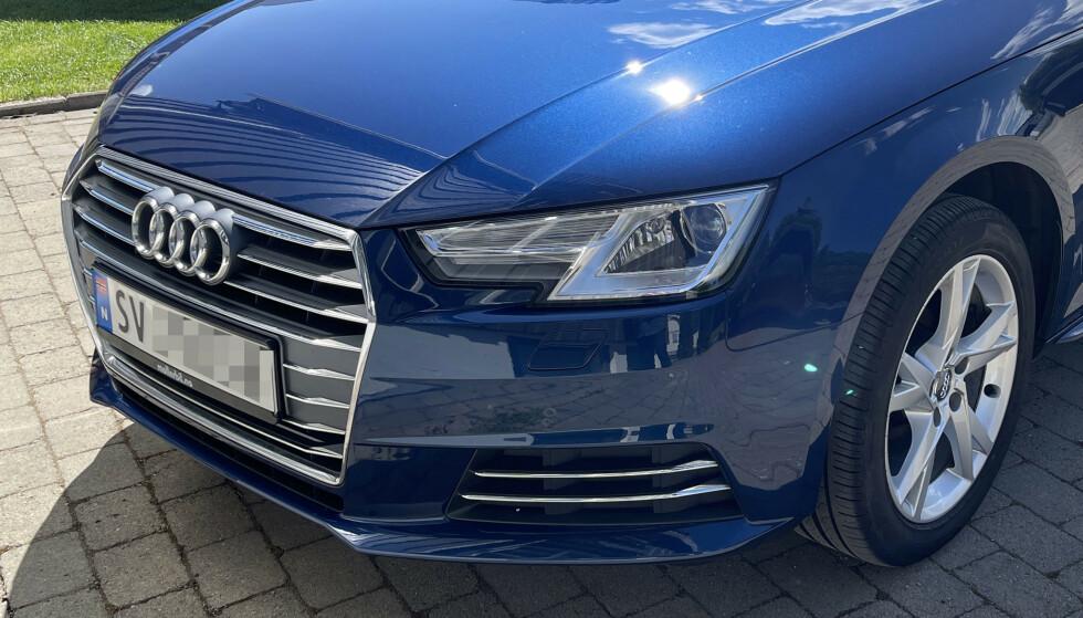 SNART SLUTT: Audi vil snart ikke presentere annet enn helelektriske nyheter. Foto: Bjørn Eirik Loftås