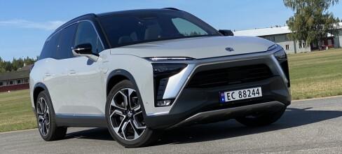 Prøvekjørt: Nio ES8 - elbilen som kan kjøpes uten batteri