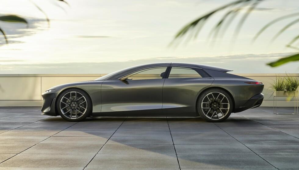 LANG: Når lengden teller, er Audi GrandSphere å regne med.
