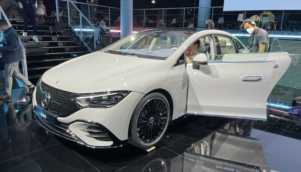 Mercedes-Benz EQE. Foto: Bjørn Eirik Loftås