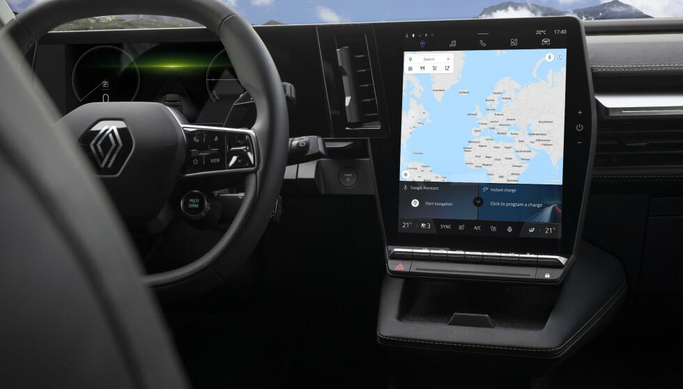 Renault lanserer elektrisk Megane E-Tech