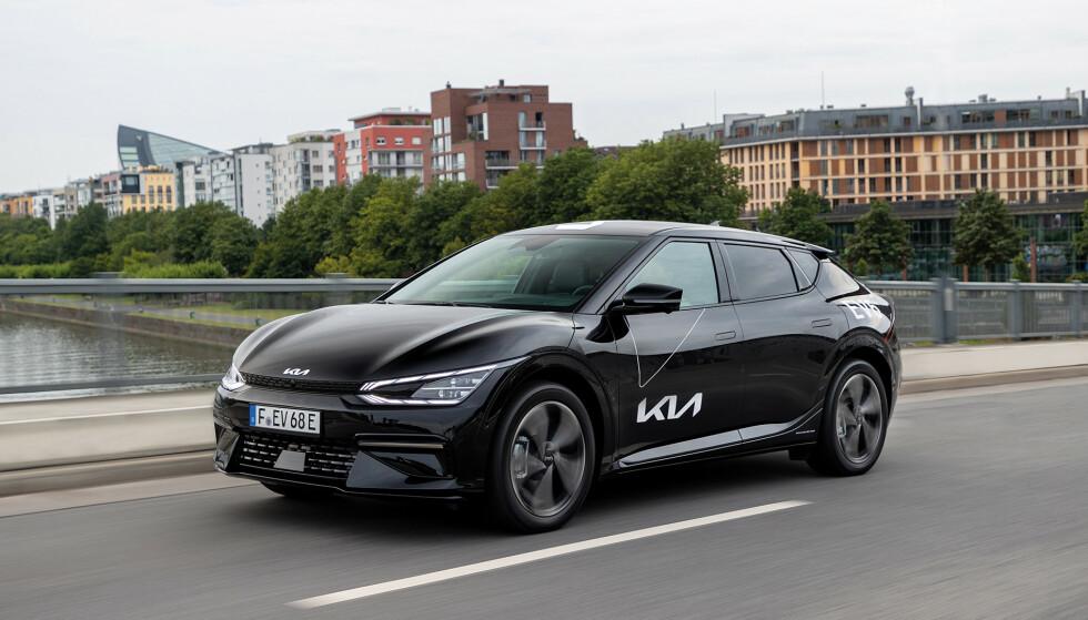 ACTIVE: Med det nye utstyrsnivået kan du få Kia EV6 til betraktelig lavere pris. Foto: Kia