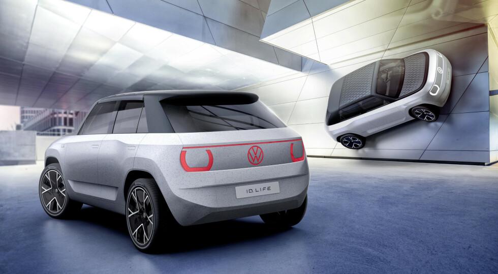 Volkswagen ID.Life (konseptbil). Illustrasjon: Volkswagen