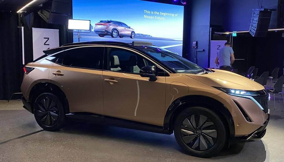 Nissan har priset elbilen Ariya