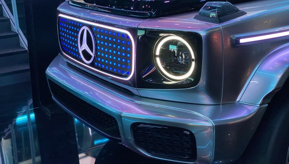 FUTURISTISK: Men også realistisk. Konseptbiler har en funksjon for fremtidige bilmodeller. Foto: Fred Magne Skillebæk
