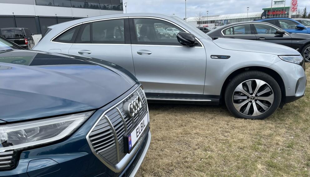 MEST ØKONOMISK: Elbilene er de klart rimeligste bilene å eie, også når verditapet tas med i beregningen. Foto: Bjørn Eirik Loftås