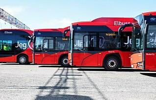Nå skal alle bussene bli elektriske