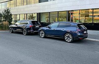 BMW iX allerede i Norge